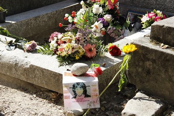 Jim Morrison, Père Lachaise