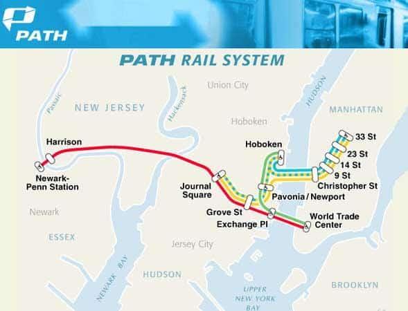 Path Train - Nova Jersey
