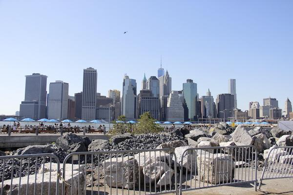 Vista de Manhattan - East River Park