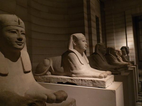 antiguidades egípcias museu do louvre