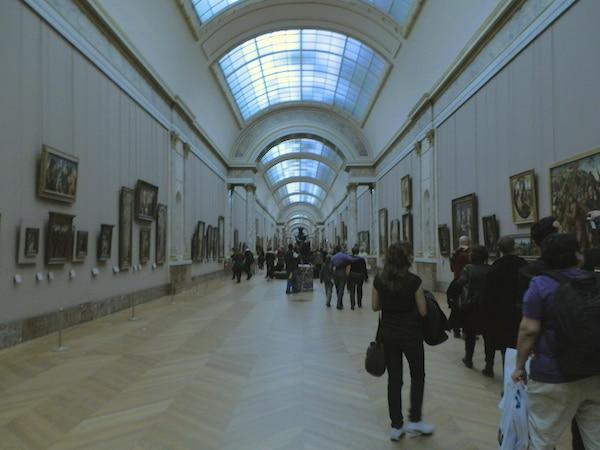 galeria de pinturas museu do louvre