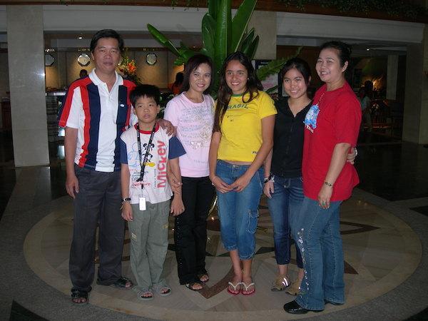 intercambio na tailandia família e conselheira