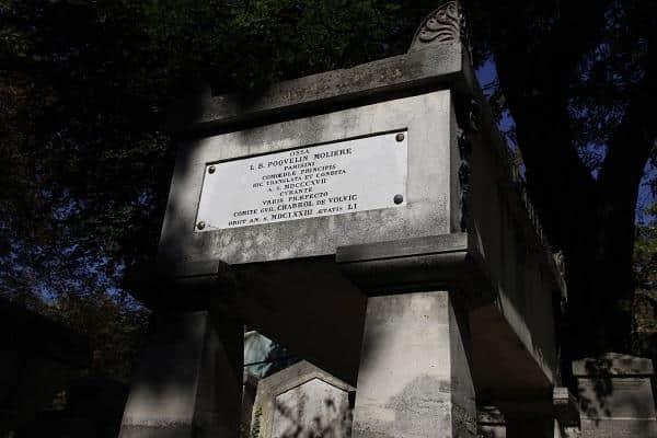 moliere, Père Lachaise