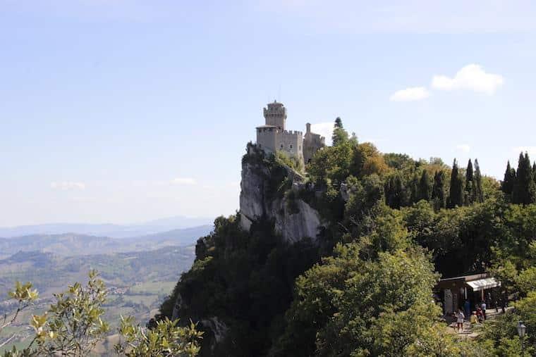 Onde ficar em San Marino Castelo