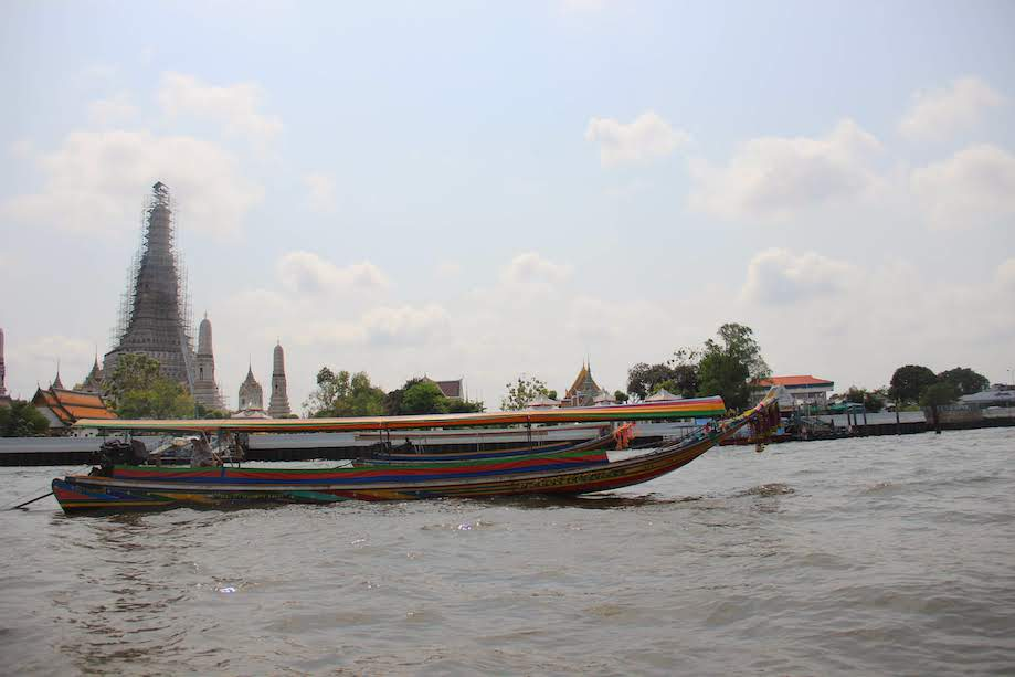 Wat Arun - Vista do Rio