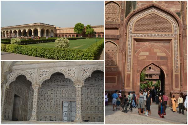 Colagem Agra Fort