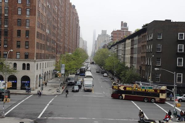 Cruzamento em Nova York, Estados Unidos