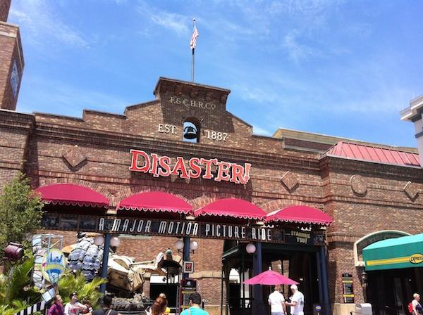 Disaster - Universal Studios Orlando