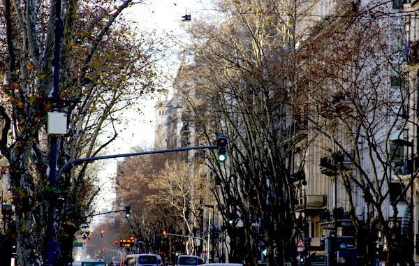 Ruas do centro de Buenos Aires