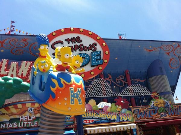 Simpsons - Universal Studios Orlando