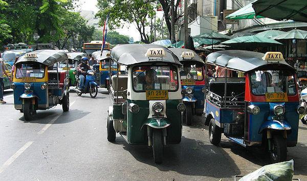 Tuktuk bangkok tailandia