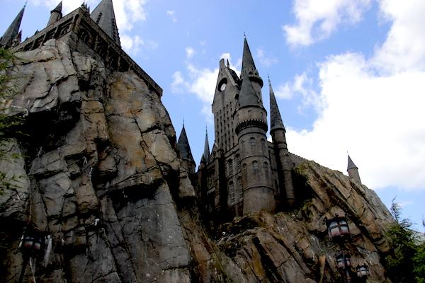 castelo de Hogwarts - Parque do Harry Potter