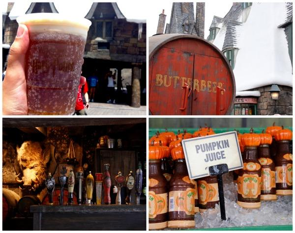 cerveja amanteigada - parque do Harry Potter