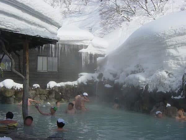 Onsen, no Japão