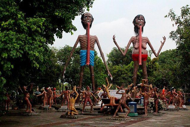 Jardim do Inferno Tailândia
