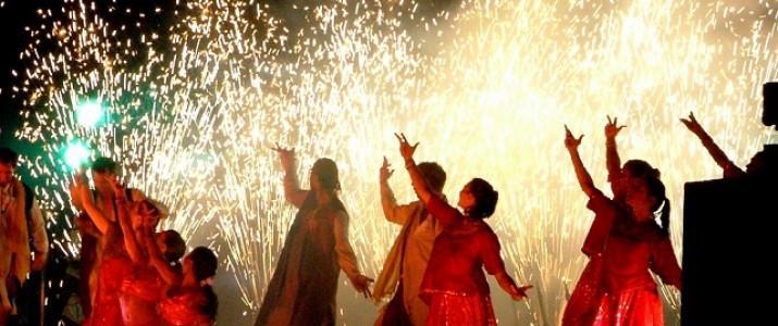 dança em Bollywood - Índia