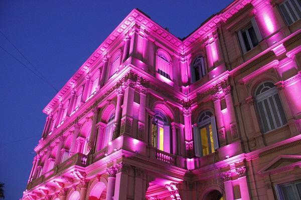 Casa Rosada de noite