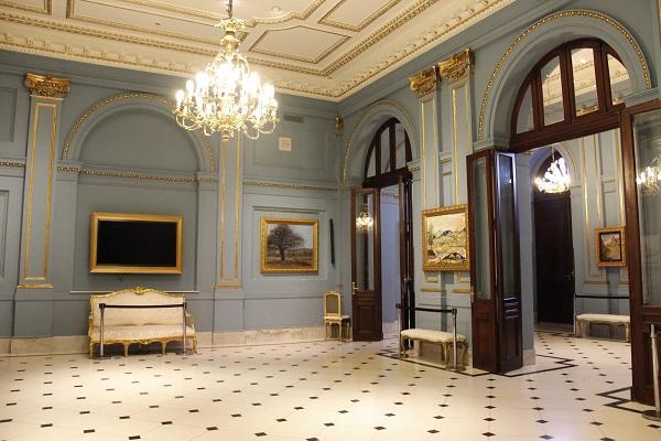 Interior da Casa Rosada