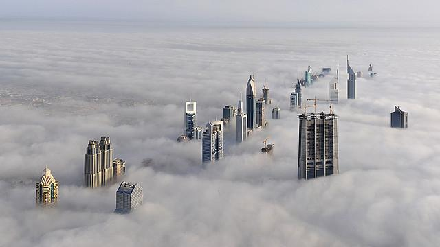 Dubai - Vista aérea
