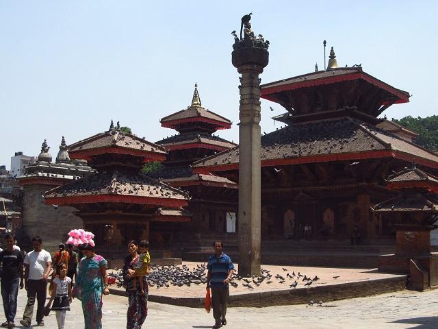 Durbar Square de Katmandu