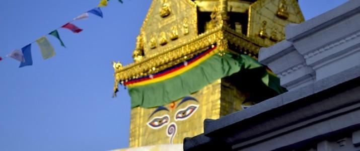 Estupa em Katmandu - Nepal