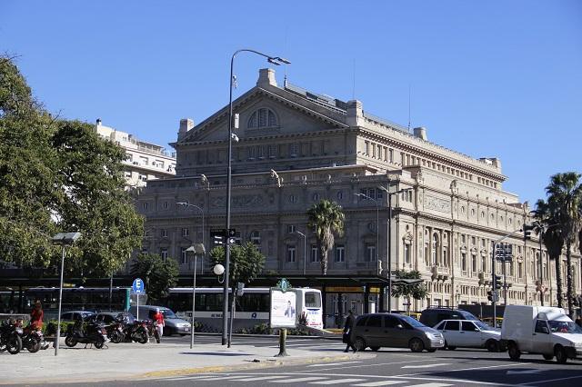 Visita ao Teatro Colón, Buenos Aires