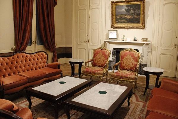 Interior Casa Rosada