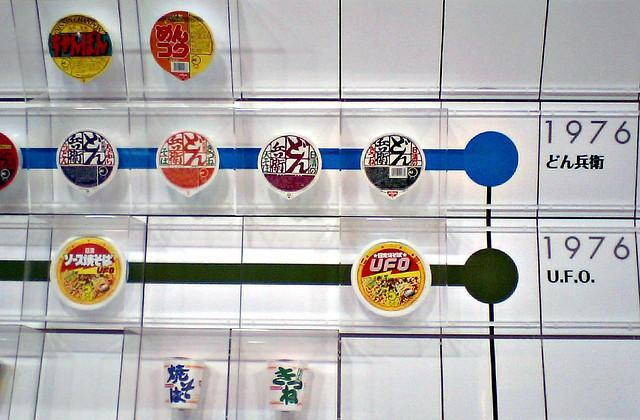 Museu cup noodles miojo