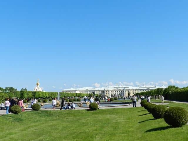 Peterhof, São Petersburgo, Rússia