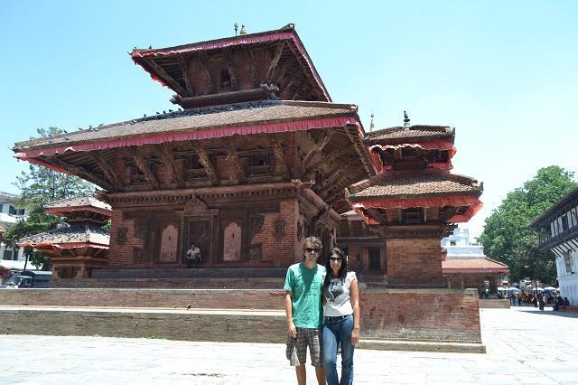 Praça Real de Katmandu