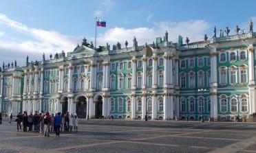 Os palácios de São Petersburgo
