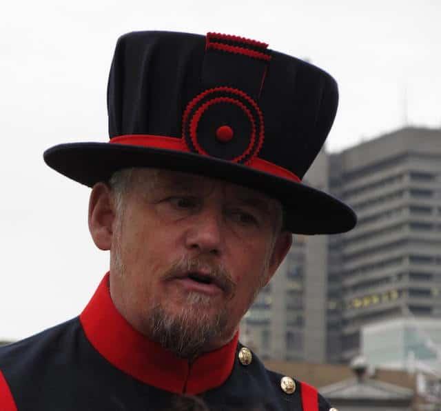 Torre de Londres guarda