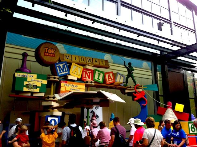 Toy Story Midway Mania - Disney Hollywood Orlando
