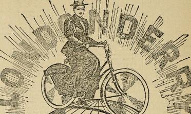 Annie e a volta ao mundo em duas rodas