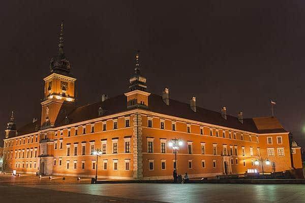 castelo real de varsovia
