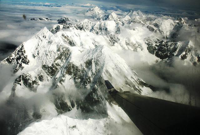 everest - vista do avião