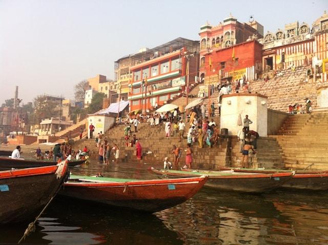 ghats onde ficar em varanasi