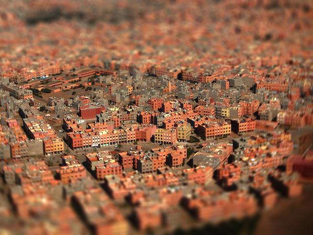 marrakesh - vista aérea