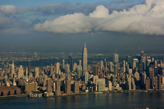 nova york - vista aérea