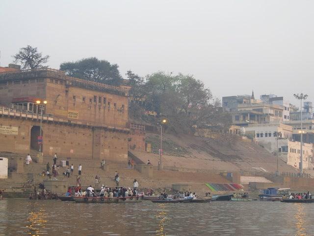 raja ghat onde ficar em varanasi