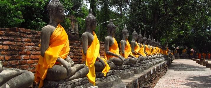 Budas na Tailândia