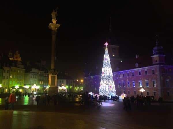 varsovia old town