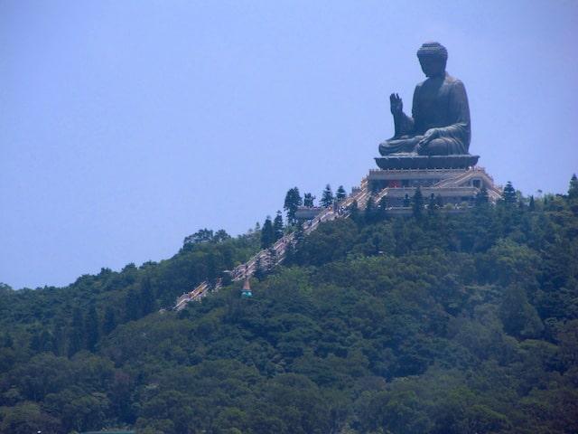 Buda Gigante visto do Cable Car