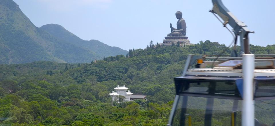 Cable Car e Buda Gigante Hong Kong