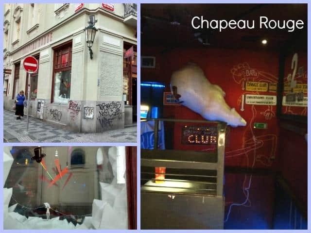 Comer e Beber em Praga Chapeau Rouge