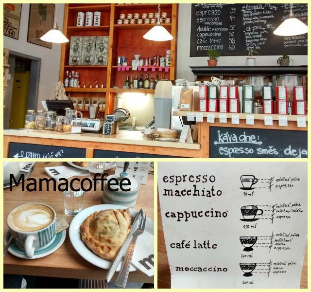 Comer e Beber em Praga Mamacoffee