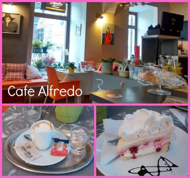 Comer e beber em Praga Cafe Alfredo