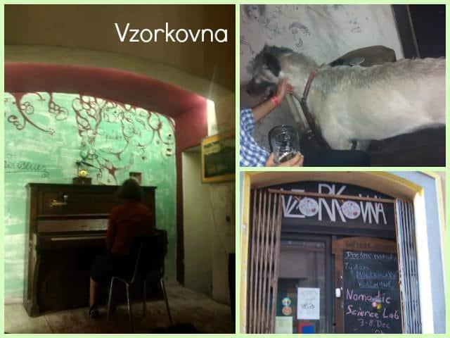 Comer e beber em Praga Vzorkovna