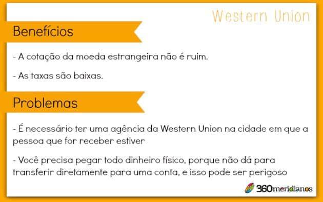 Como transferir dinheiro para o exterior Western Union