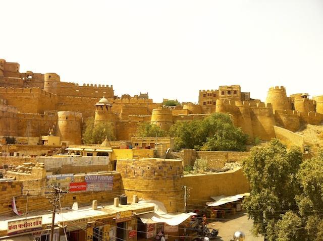 Forte de Jaisalmer - Rajastão